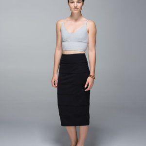 Lululemon Yoga Over Skirt: Retro Camo Black
